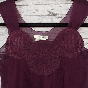 Sophie Max Sz:XS Wine colored, Shell 100% silk